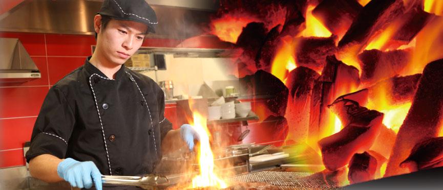 "Reason of taste of ""charcoal making"""
