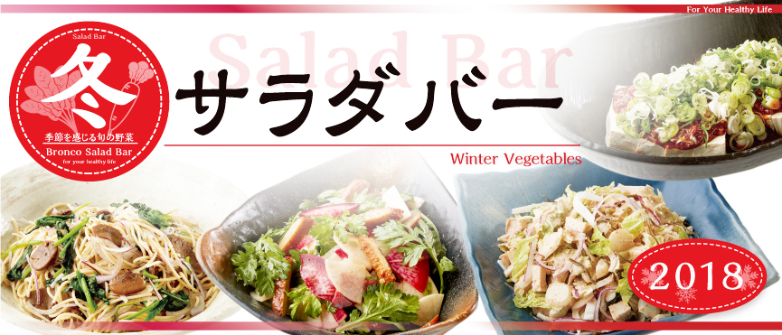 Salad bar winter for 2,018 years [seasonal limitation]
