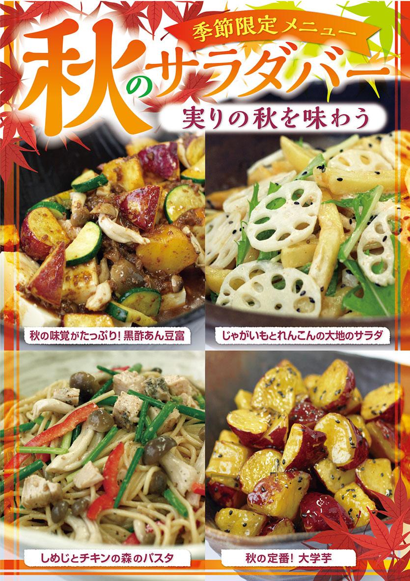 00初夏サラダバーB2ポスター